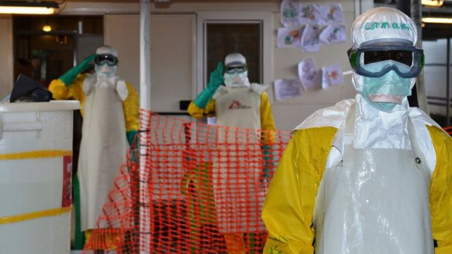 The world's deadliest Ebola outbreak hit West Africa in 2014-2015. GETTY IMAGES